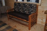 Wood Bench on sale