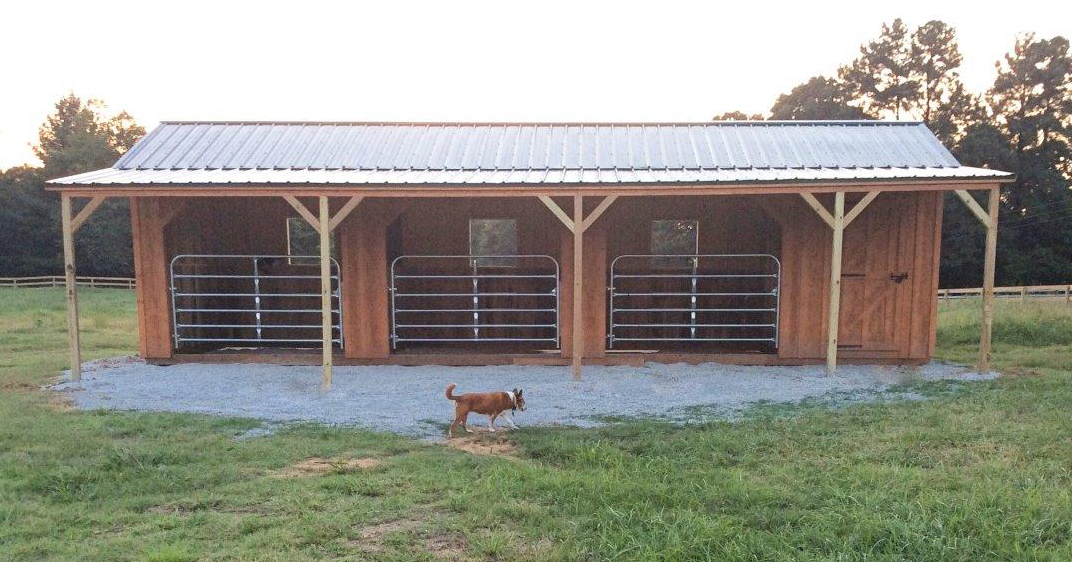 Great Barn Solution by Tom Brennan of Mid South Horse Review