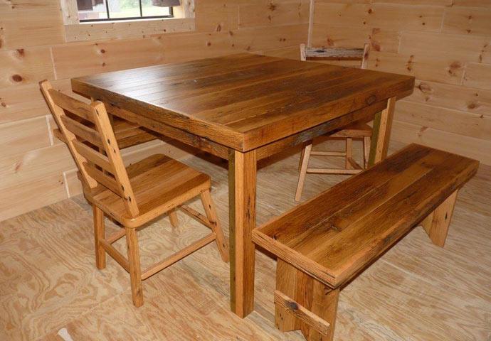 Reclaimed Barnwood Furniture Dickson Franklin