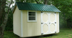 Traditional Classic Utility Shed