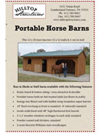 Horse Barn brochure