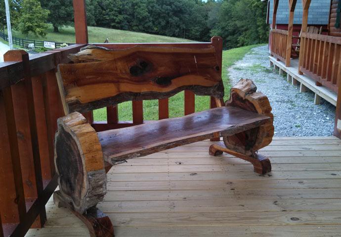 Red Cedar Furniture ~ Rustic furniture red cedar reclaimed barn wood