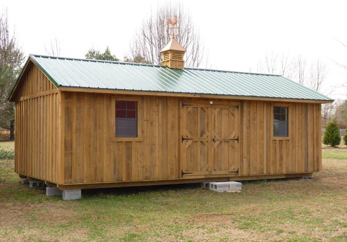 Storage Shed Ramps >> Deluxe Shed