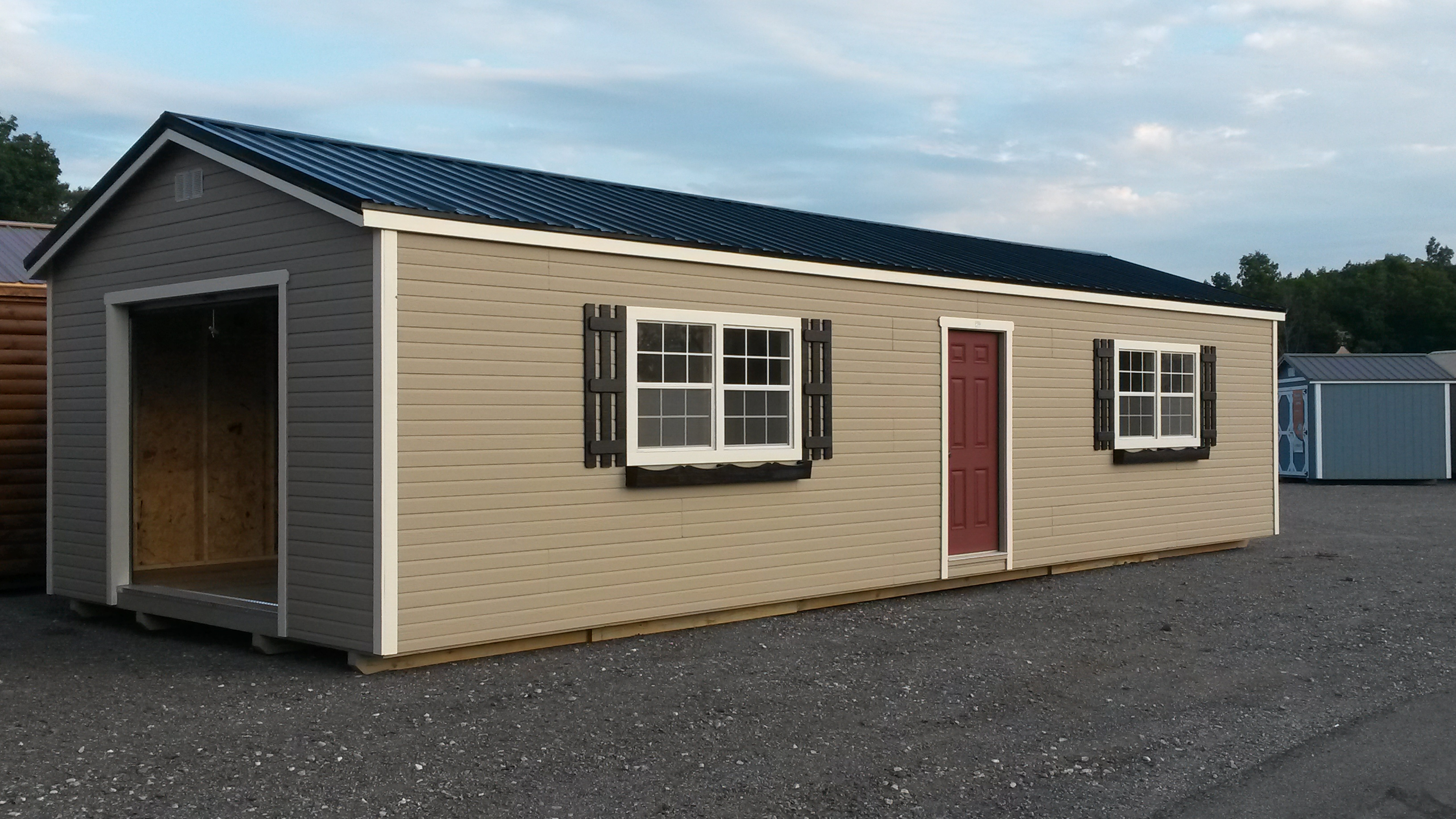 utility storage sheds locally built shed serviced