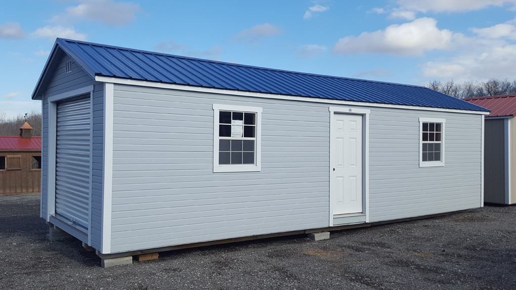 12x32 classic utility shed