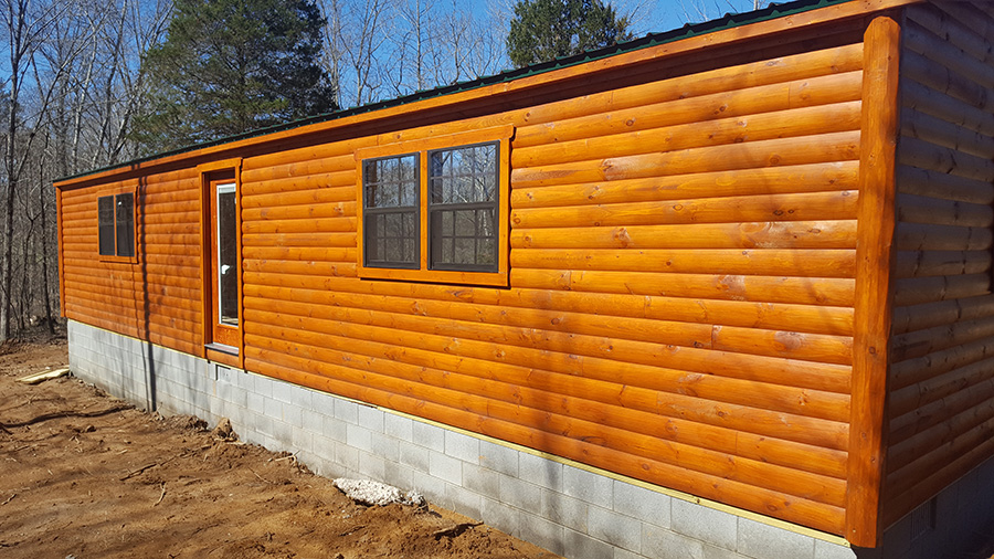 double wide cabin for sale
