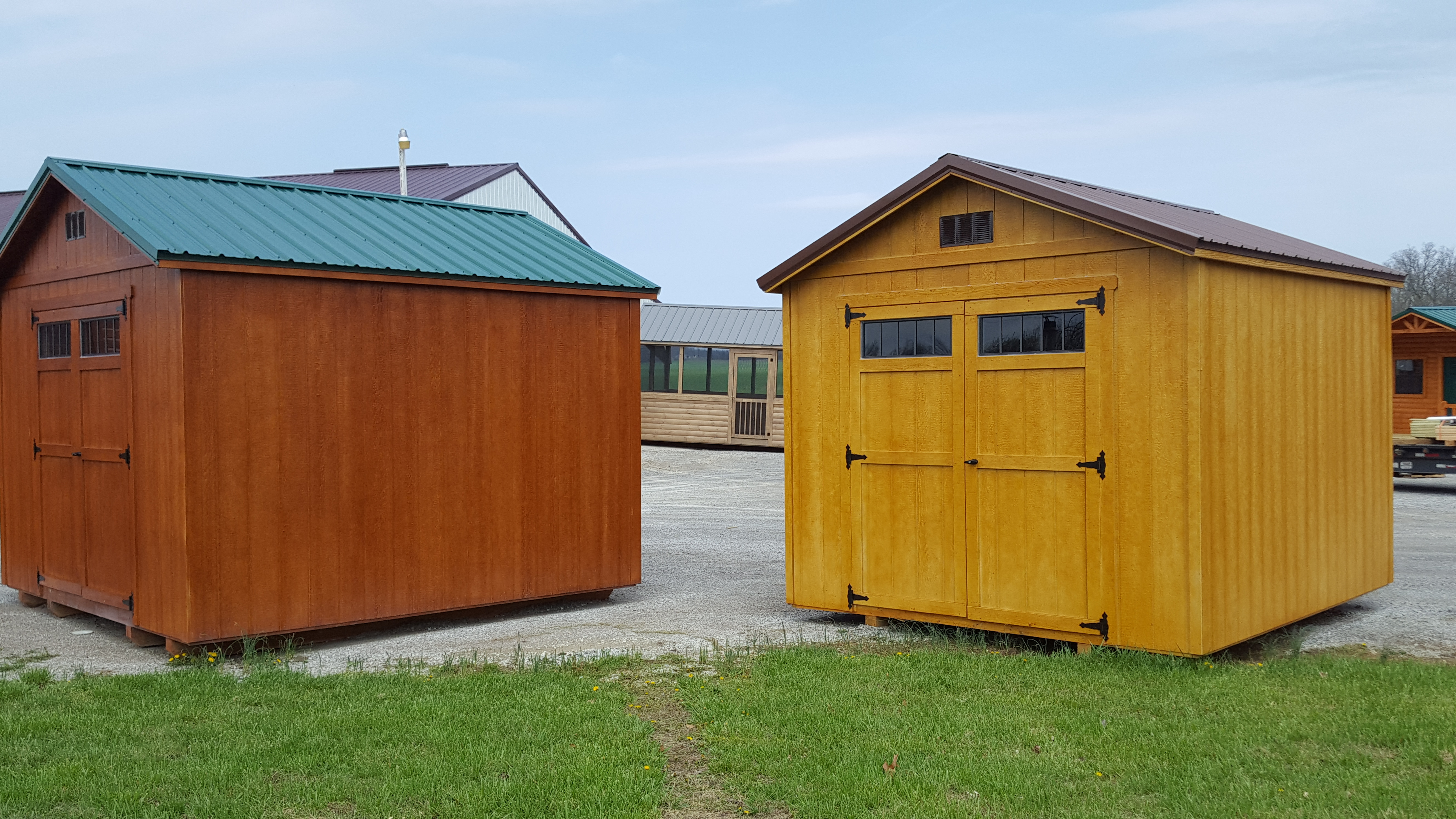 portable storage buildings factory direct