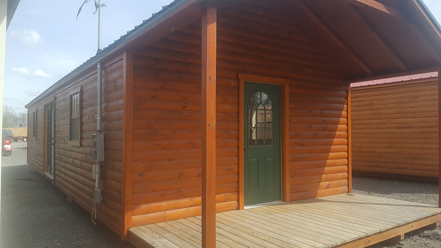 16x46 country cabin for sale