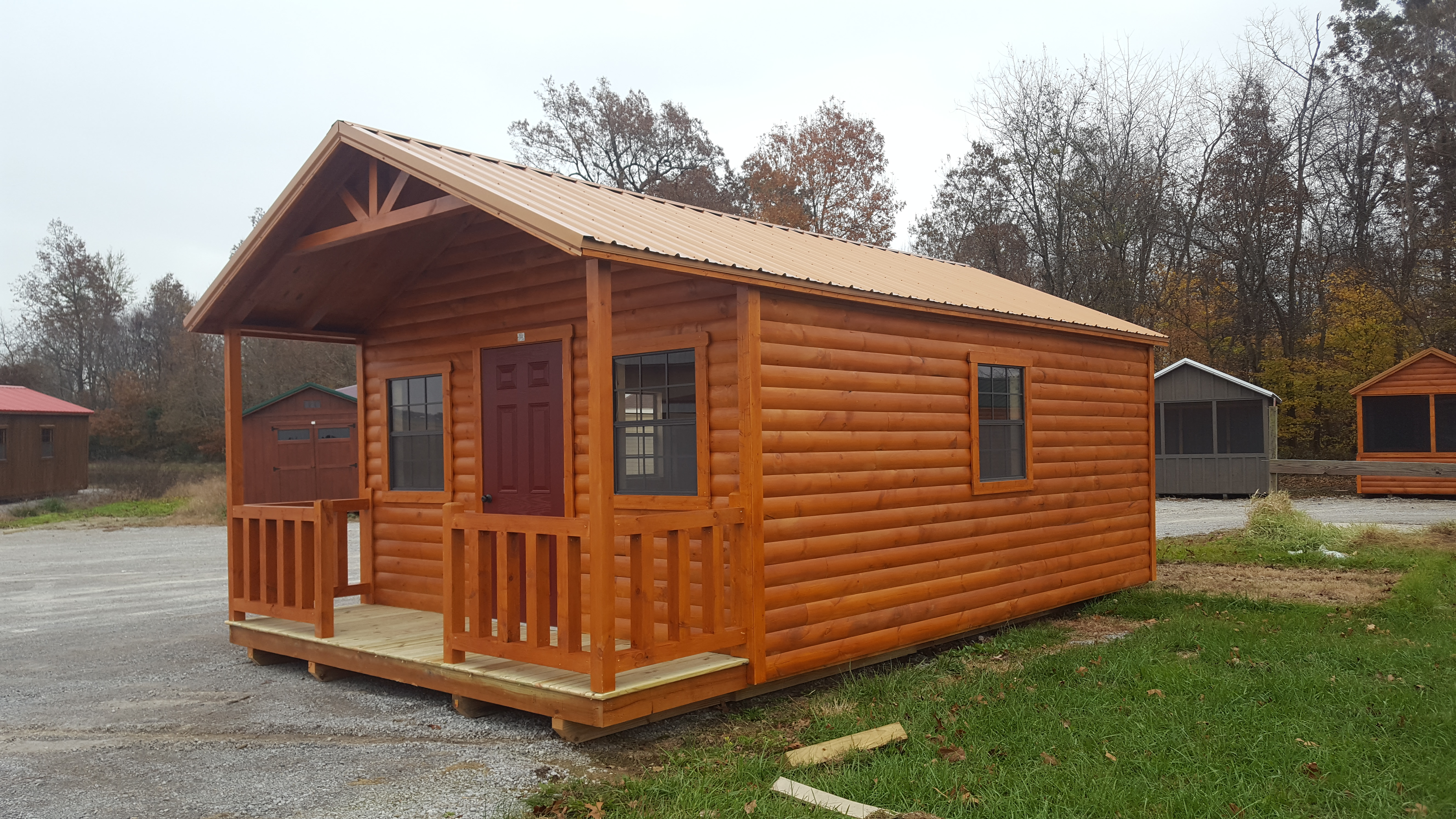 Small Log Cabins Factory Direct Portable Pre Built