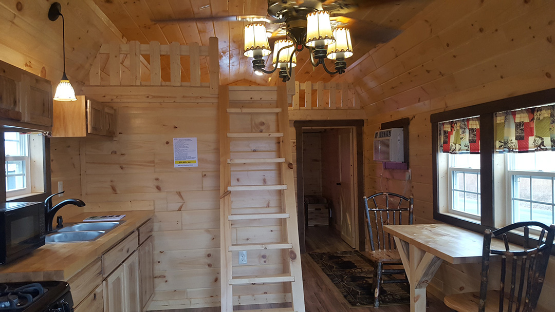Park Model Cabin Interrior