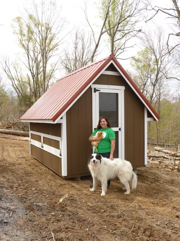 Long-Lasting Chicken Coop Provides Solution at Tennessee Homestead