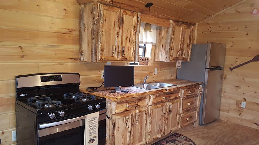 HTS-Rustic Colorado Aspen Cabinets