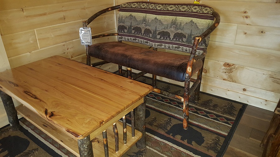 Amish Made Hickory Furniture