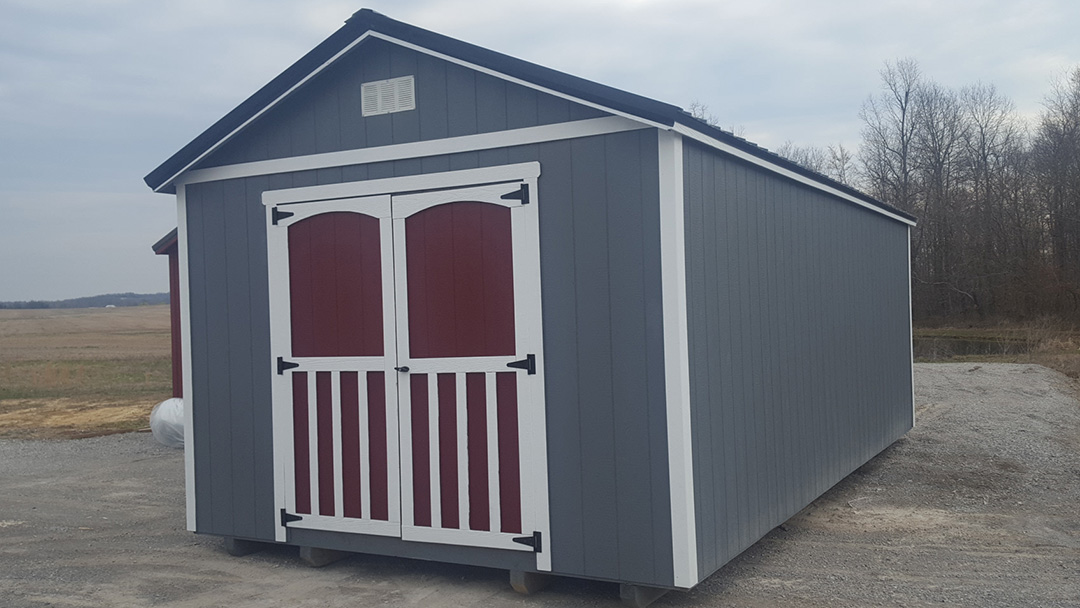 Deluxe and Traditional Classic storage shed
