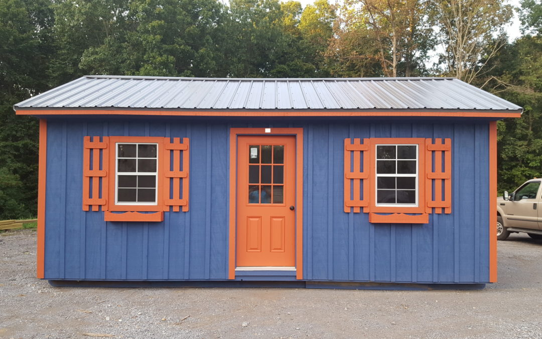 You Don't Have to Buy a Cookie Cutter Shed