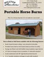 Hilltop Structures Horse Barns Brochure (PDF)