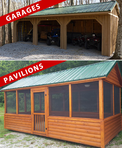 Garages and Pavilions