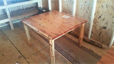 Red Cedar 48 X Dining Table