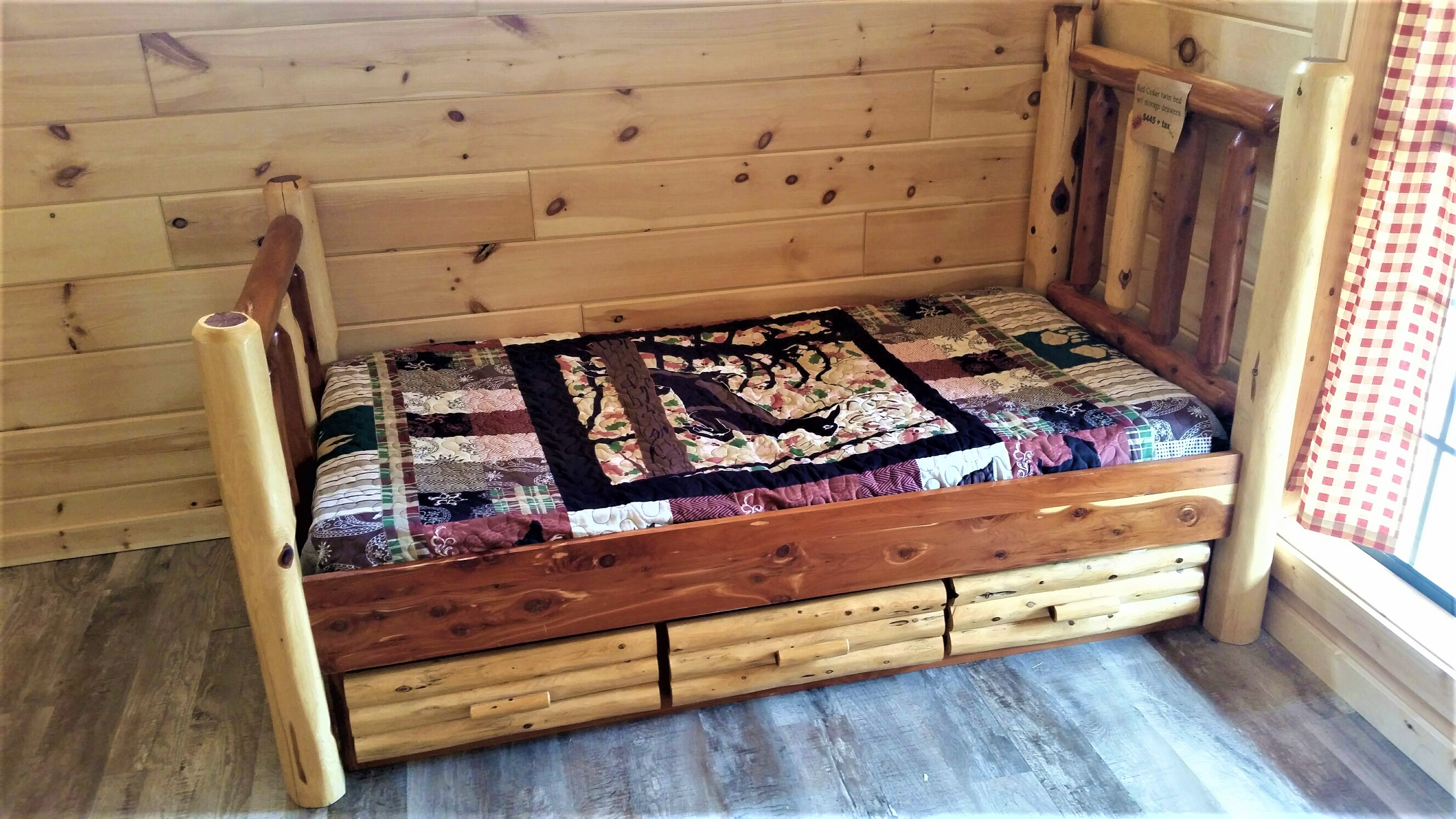 Rustic Furniture Red Cedar Reclaimed Barn Wood