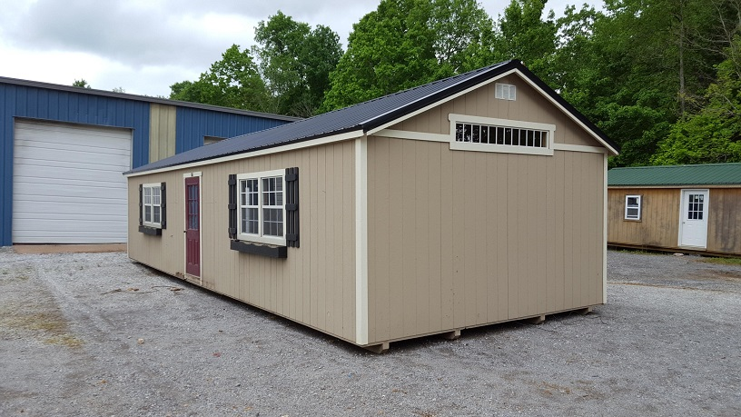 16x40 Traditional Classic Shed REPO