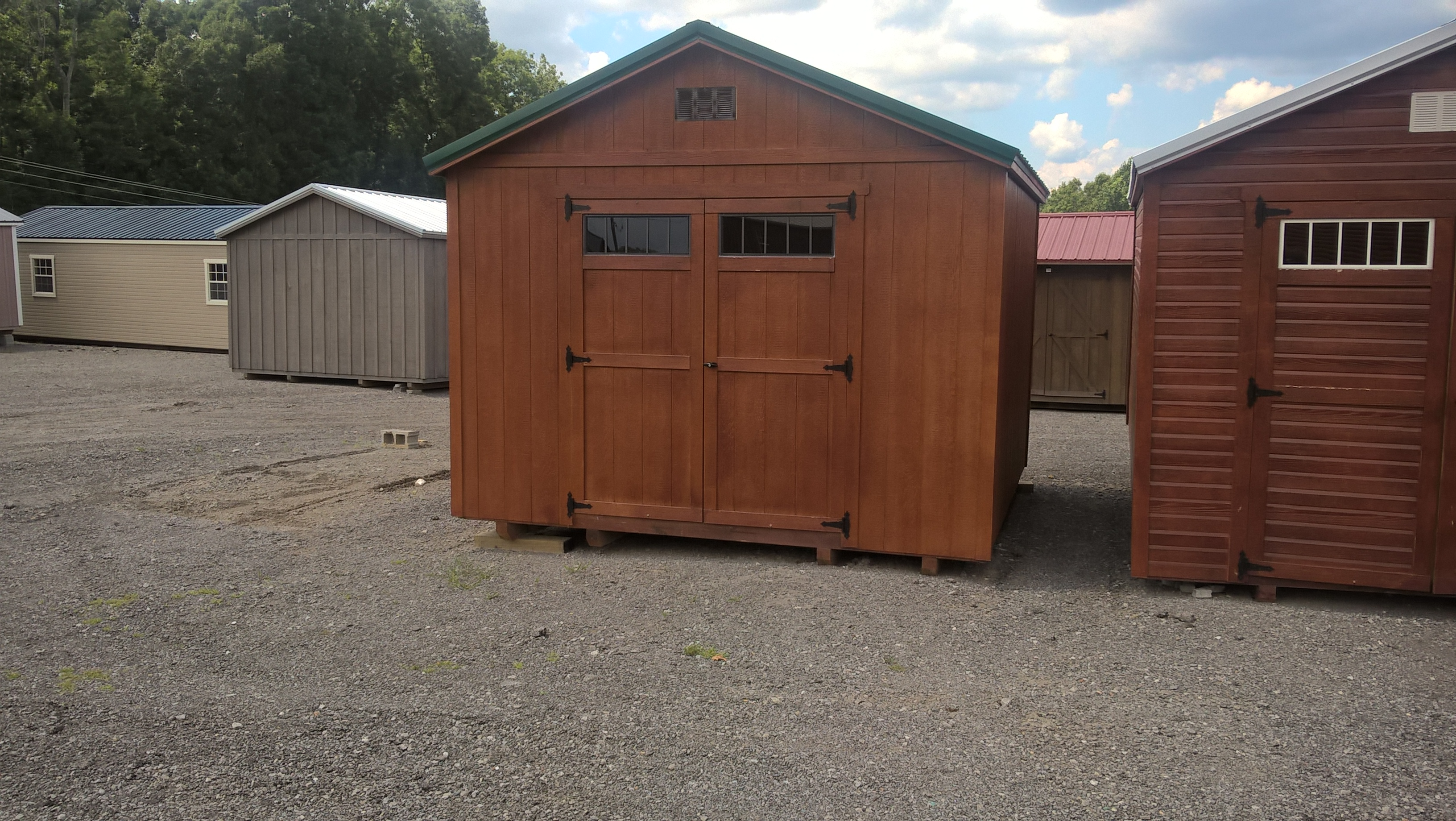 Used sheds for sale amazoncom arrow shed vs108a vinyl for Aluminum sheds for sale
