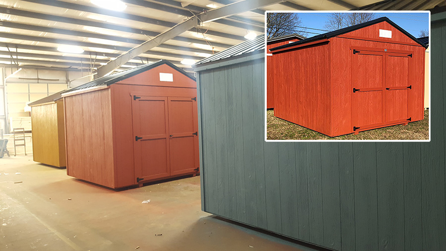 Economy Storage Sheds at Discount Prices