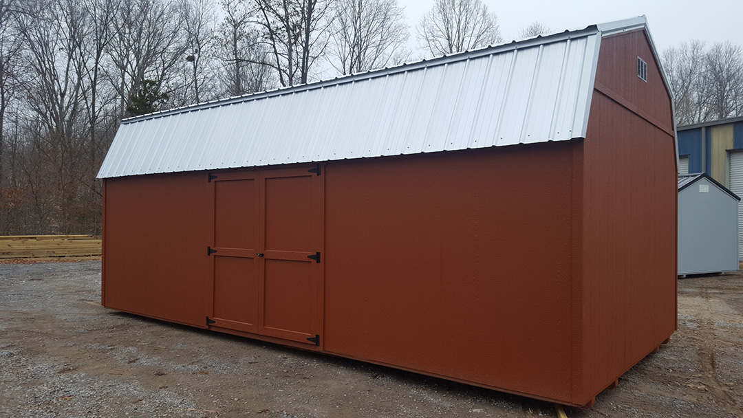 Factory Direct Prebuilt Economy Storage Shed Building