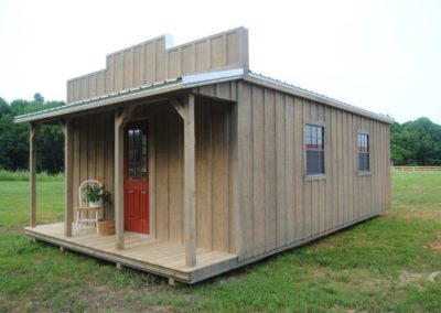 16×28 Frontier Cabin with Porch – SALE!