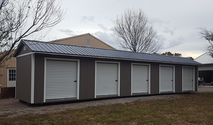 Portable Multi Bay Storage Shed Unit for Sale