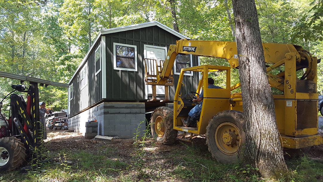 Site Prep Information for Cabins, Horse barns or large Sheds