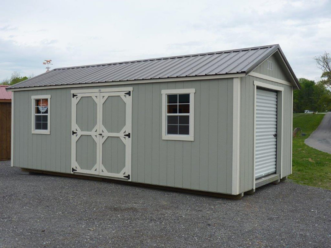 Deluxe Shed